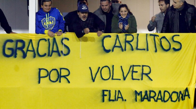 Tevez, Maradona:«Se va in Cina, niente nazionale Argentina»
