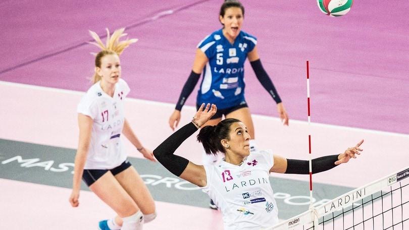 Volley: A2 Femminile, a Santo Stefano il big match Pesaro-Filottrano