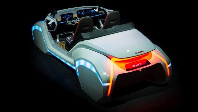 Bosch, il futuro della mobilità racchiuso in una concept car