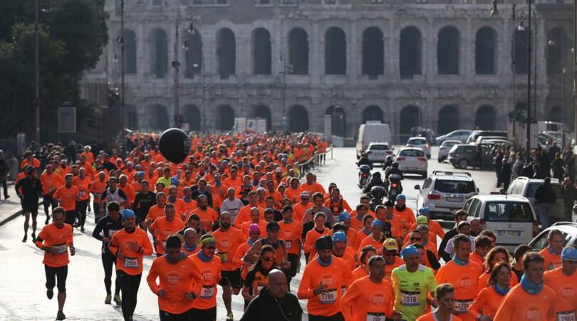 We Run Rome: a Roma una vigilia di Capodanno tutta di corsa