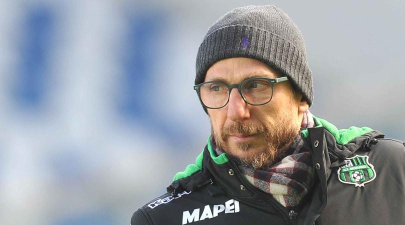 Serie A Sassuolo, Di Francesco: «Mercato? Mi aspetto che nessuno parta»
