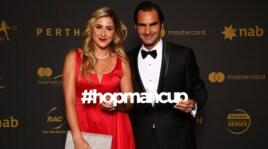 Hopman Cup, Federer e le altre star tirate a lucido