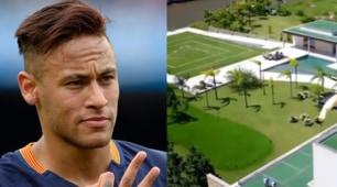 La nuova casa da sogno di Neymar