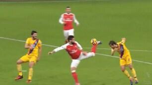 Giroud, è già il gol dell'anno? Il tacco acrobatico è pazzesco