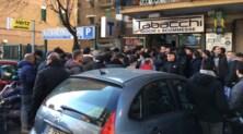 Napoli-Real Madrid, tifosi in fila dall'alba per i biglietti