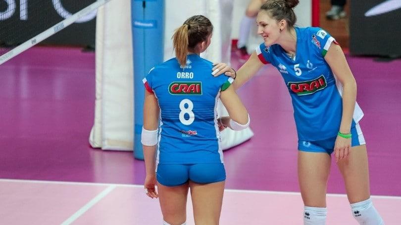 Volley: Under 18 Femminile, raduno a Milano con cinque del Volleyrò