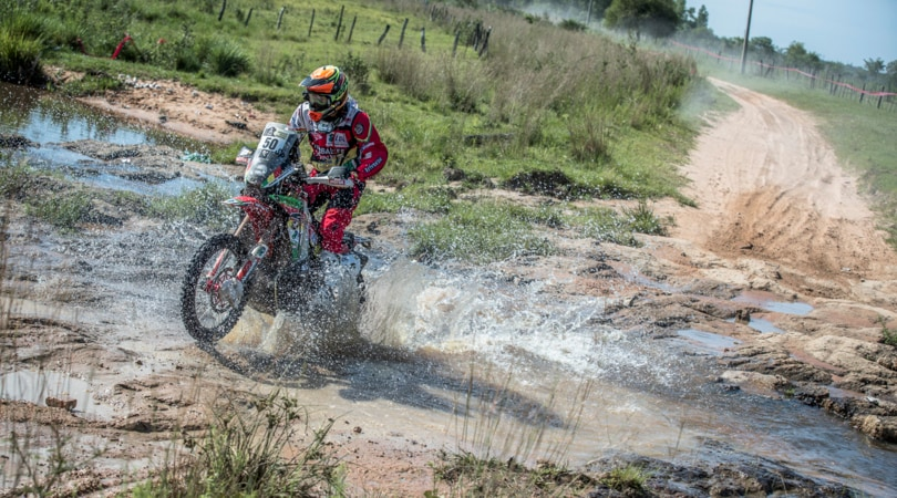Anche un sansalvese alla Dakar 2017