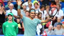 Hopman Cup, per re Federer il ritorno è vincente