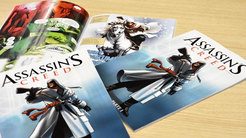 Assassin's Creed, finalmente in edicola!