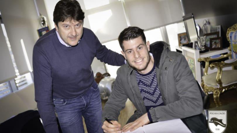 Pescara, ufficiale Cerri: in prestito dalla Juventus