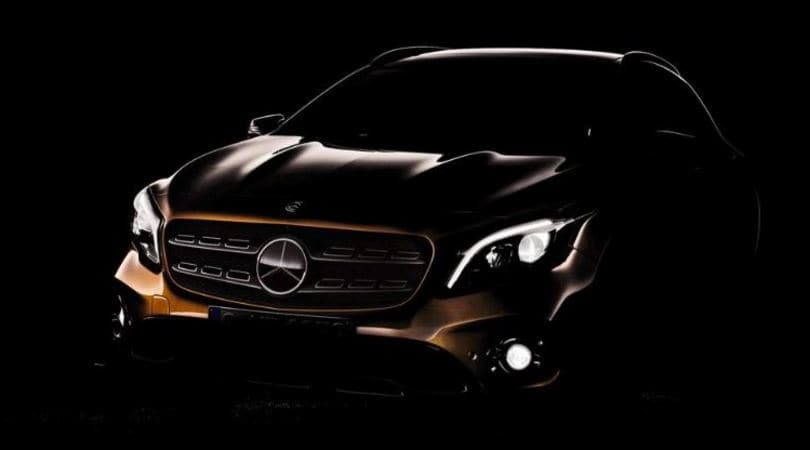 Mercedes GLA, il restyling debutta a Detroit