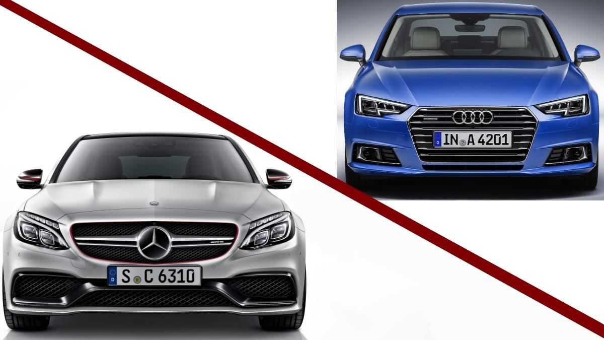 """Alla """"guerra dei numeri""""tra Mercedes e Audivince solo il premium"""