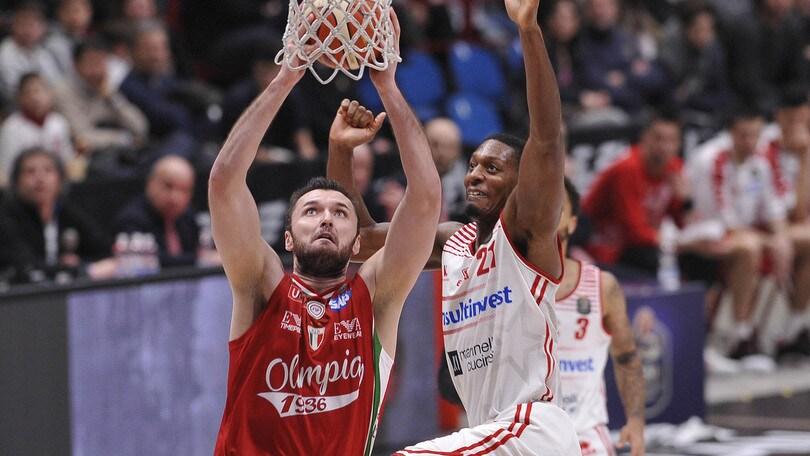 Basket, Eurolega: quota pesante per Milano
