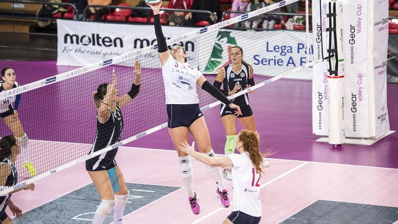 Volley: A2 Femminile, si chiude il girone di andata