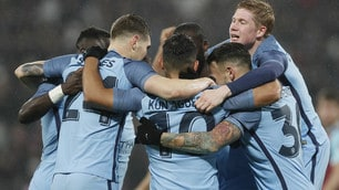 FA Cup, West Ham-Manchester City 0-5: Guardiola a valanga