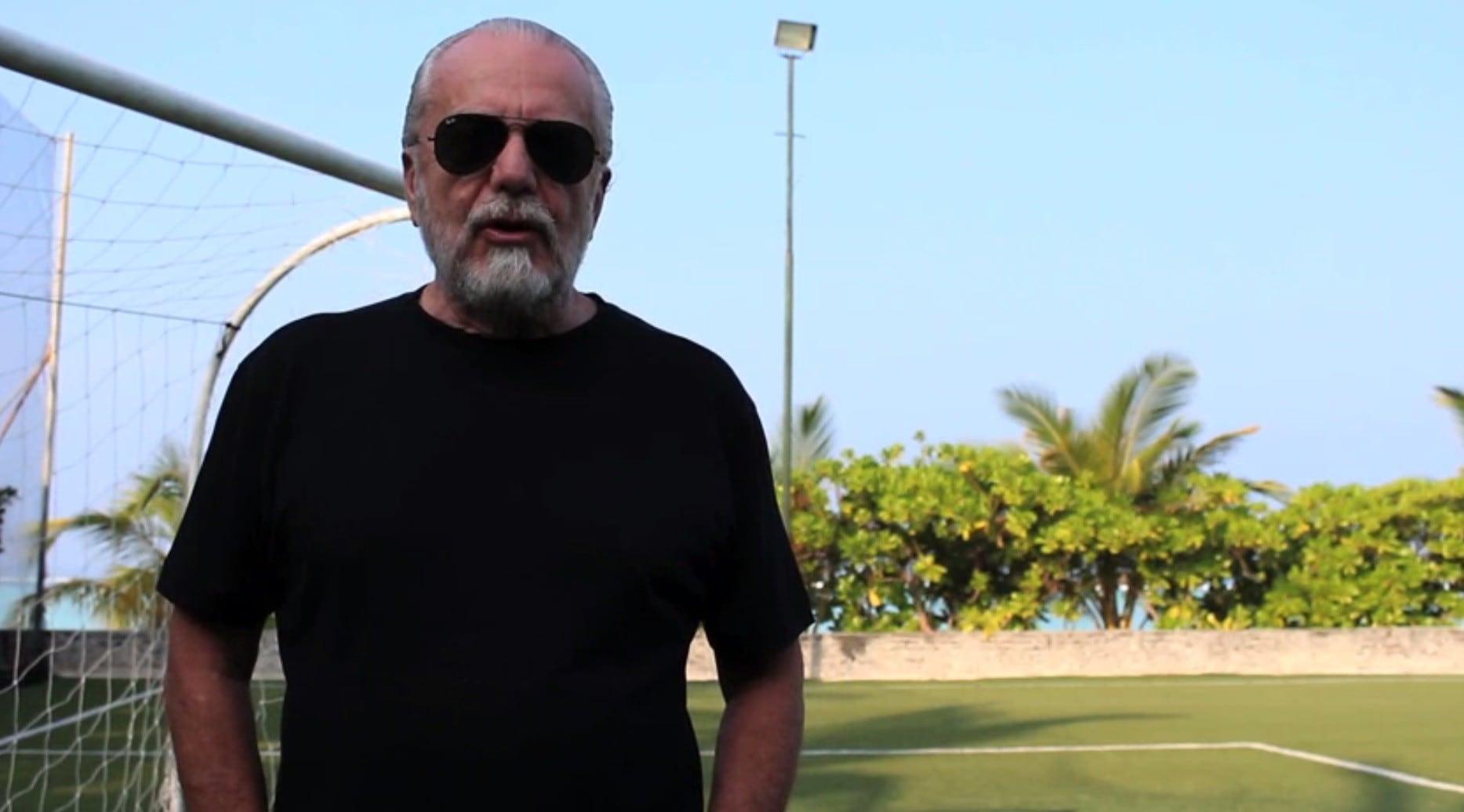 De Laurentiis è un film: «Lotti, per il bene del calcio cancella la Melandri»