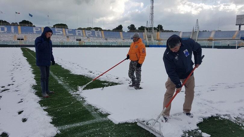 Maltempo, Pescara-Fiorentina è a rischio