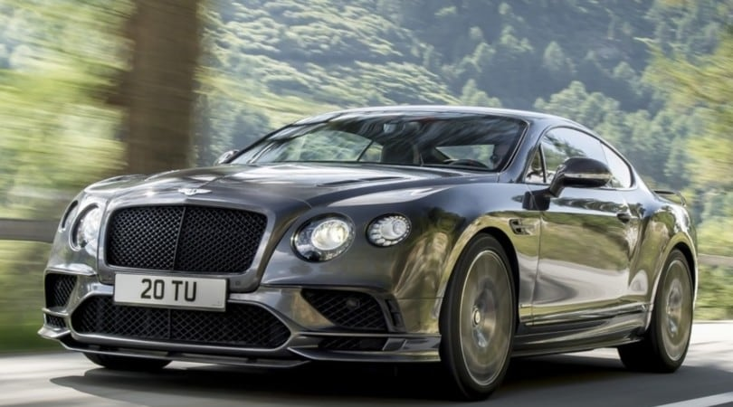 Bentley Continental Supersports, 4 posti a 336 orari