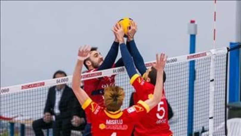 Volley: A2 Maschile Girone Blu, Reggio Emilia vittoria e sorpasso