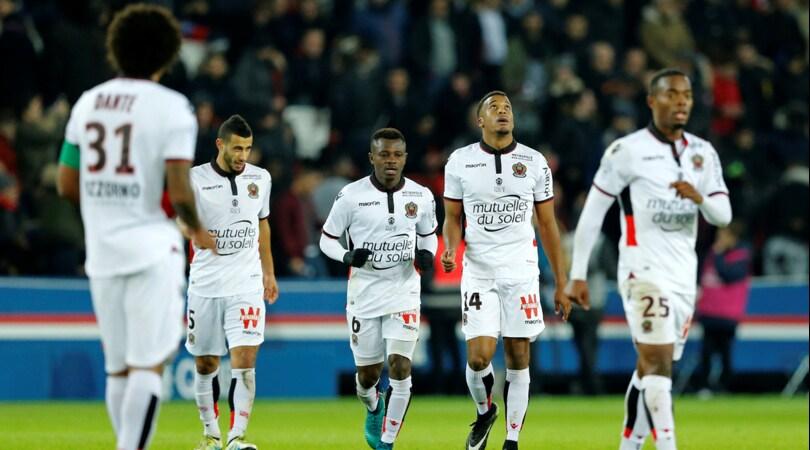 Coupe de France, rimonta del Lorient: eliminato il Nizza