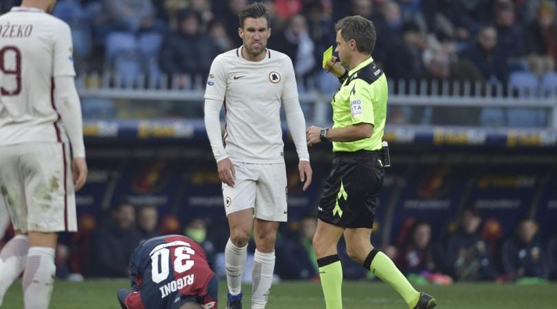 Moviola: Sturaro, rigore ok. Cercansi penalty a Genova