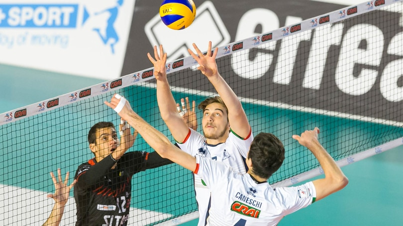 Volley: A2 Maschile Girone Bianco Tuscania sgambetta Siena