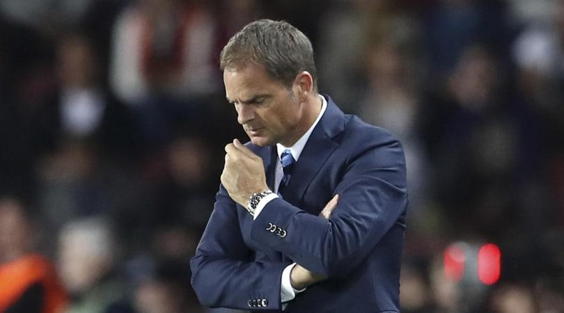 De Boer: «Tre mesi di Inter mi sono sembrati un anno»