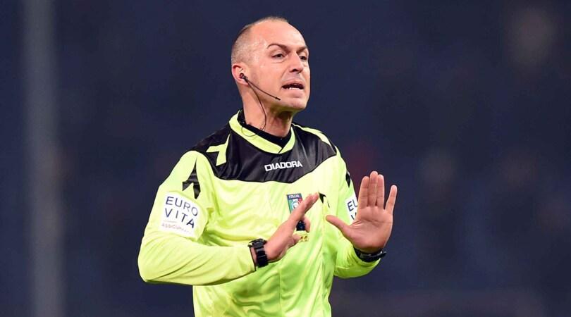 Coppa Italia: Pairetto per Napoli-Spezia, Giacomelli per Juventus-Atalanta