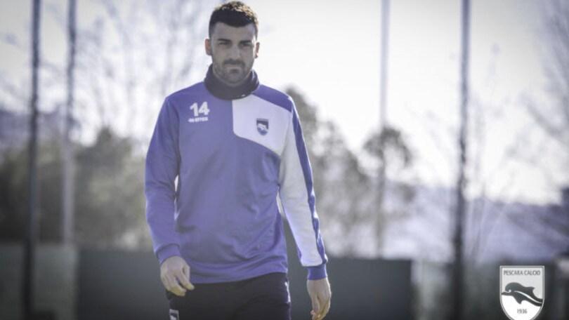 Serie A Pescara, Bovo out: problema alla caviglia