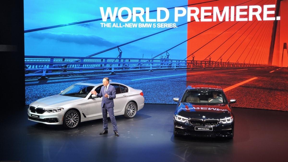 Detroit live, la nuova BMW Serie 5