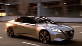 Nissan Vmotion Concept al Salone di Detroit 2017