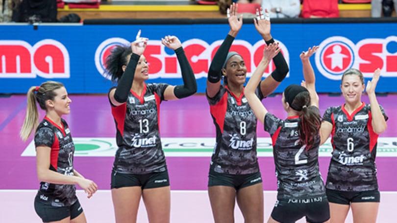 Volley: Coppa Cev, la Pomì ospita in Maccabi, la UYBA il Maritza