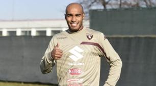 Torino, ecco Carlão: subito il primo allenamento