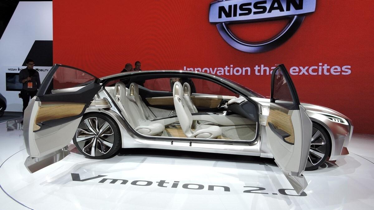 Nissan VMotion 2.0, la berlina di domani