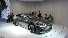 Detroit live, Lexus LS 500, scuola di lusso giapponese