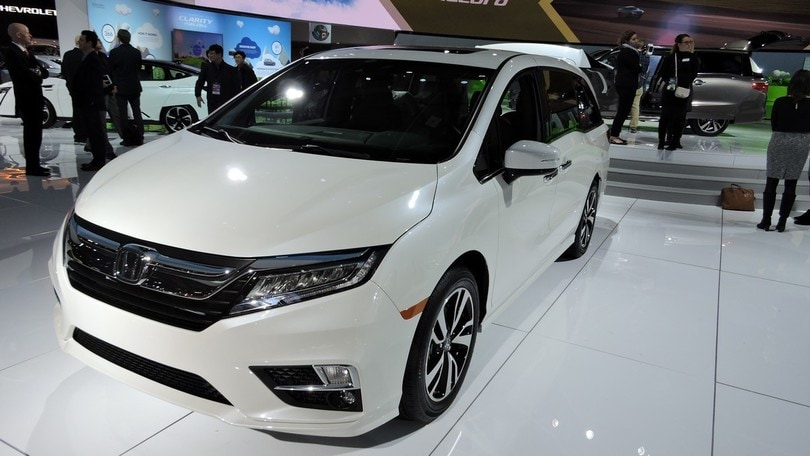 Detroit live, Honda Odissey, l'MPV più amato dagli americani
