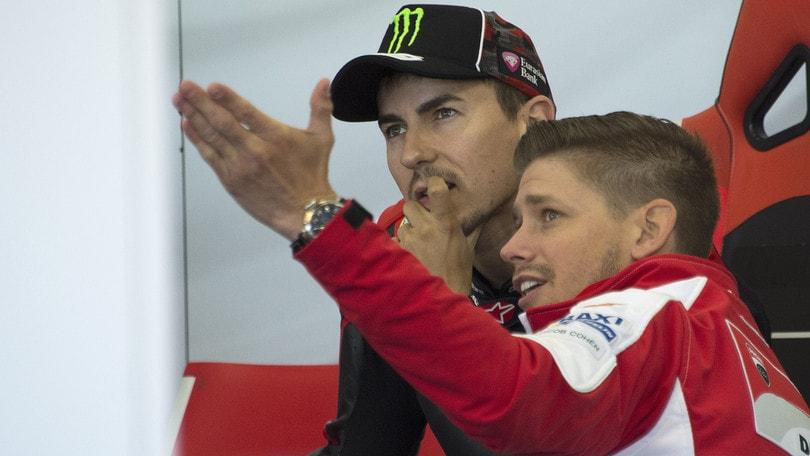 MotoGp Ducati, Stoner: «Jorge è un campione, che vinca o che perda»