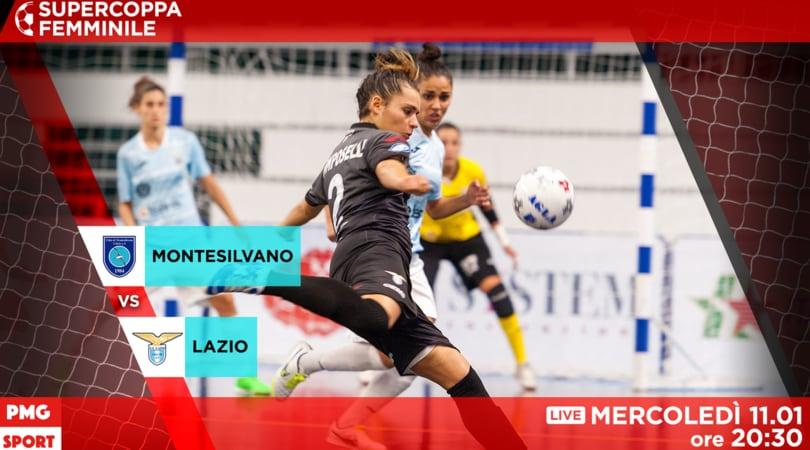 Montesilvano-Lazio: Supercoppa in palio (segui la diretta VIDEO)