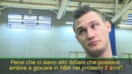 """Gallinari: """"Altri italiani in NBA? Non credo..."""""""
