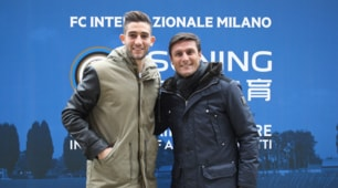 Gagliardini, le prime immagini del nuovo acquisto dell'Inter ad Appiano Gentile