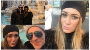 """La """"fuga"""" di Jessica e Milik, le foto della coppia a Roma"""