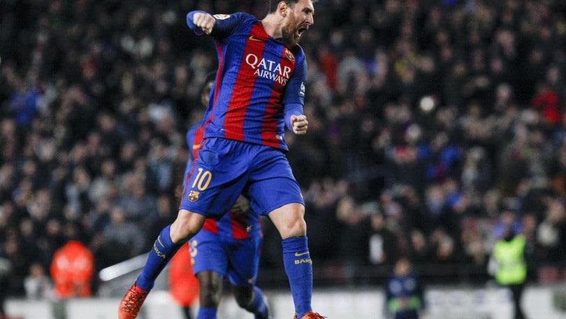 Coppa del Re, il tridente trascina il Barcellona ai quarti