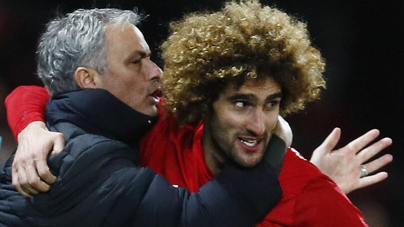 Manchester United, Fellaini non parte più e prolunga fino al 2018