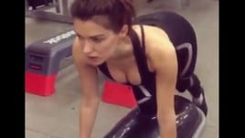 La squat perfetto di Anna-Christina