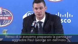 """Gallinari: """"Così ho annulato Paul George"""""""