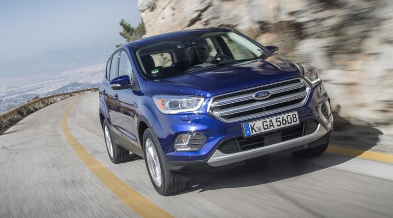 Ford Kuga, grinta e hi-tech: la prova
