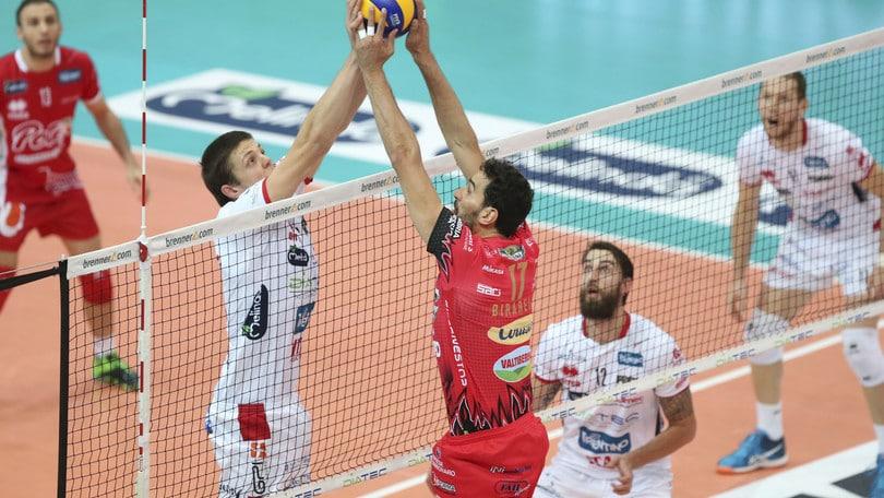 Volley: Superlega, il big match della 6a è Perugia-Trento
