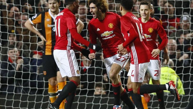 Premier, United avanti a 2,10 sul Liverpool