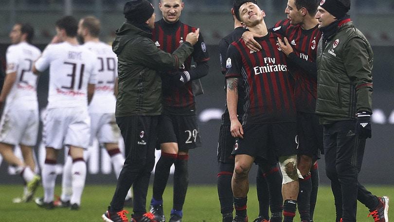 Serie A, Torino-Milan: gara da tripla