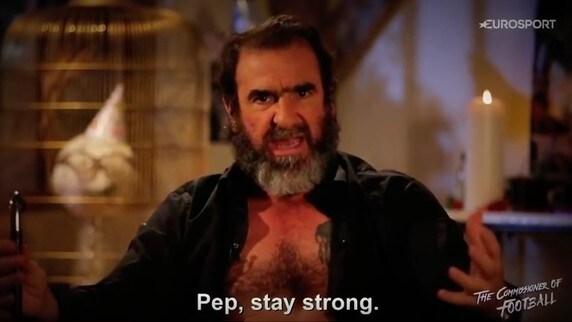 Cantona punge Guardiola: «Rilassati, prova a fare sesso dopo mezzanotte»